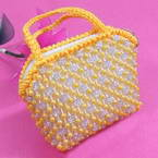 Hand made pearl bag