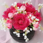 Mesh Nylon flowers videos