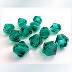 Faceted Bicones Beads