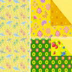 Both side pattern origami paper