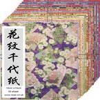 Yuzen Chiyogami floral patterns 6 inch (15 cm)