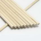Cylindrical wooden sticks