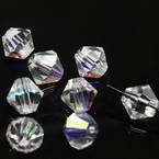 Crystal beads - Faceted Bicones 8mm