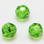 Crystal beads - Faceted Rounds 10mm