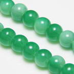 Coated glass beads