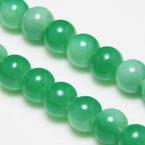 Coated glass beads
