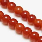Colour semi-transparent glass beads - 12mm