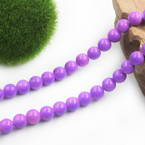 Colour opaque glass beads - 10mm