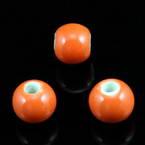 Round porcelain beads - Colour - 8mm