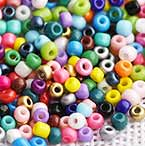 Glass Seed beads - lustre