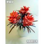 Paper flower making kit - Red Rover