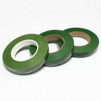 Florist tape, Paper, Dark green, green, 29m x 1.2cm, 3 pieces