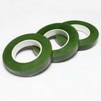 Florist tape, Paper, green, 29m x 1.2cm, 3 pieces