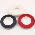 Florist tape, Paper, black, white, red, 29m x 1.2cm, 3 pieces