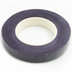 Florist tape, Paper, Dark purple, 29m x 1.2cm (approximate)