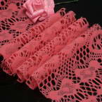 Fluffy Ribbons, Cloth, red, 100cm  x 12cm (approximate)