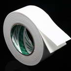 Double sided sticky tape, Sponge foam, white, 3.5m x 5cm