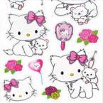 Hello kitty stickers (JDC341)