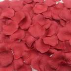 Imitation flower petals, Burgandy, 5cm x 5cm, 100 pieces