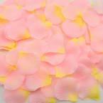 Imitation flower petals, pink, 5cm x 5cm, 100 pieces