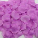 Imitation flower petals, Lilac, 5cm x 5cm, 100 pieces