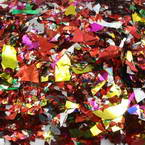 Wedding confetti, Assorted colours, 0.5cm - 4cm, 1 pieces