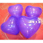 Balloon, Dark purple, 10cm x 7cm, 10  pieces