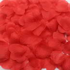 Imitation flower petals, Burgandy, 5cm x 4.5cm, 100 pieces