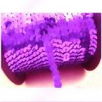 Sequin trimmings, purple, 0.6cm x 2m