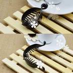 Claw Hair Clips, Plastic, black, 6cm x 1.8cm, 2 pieces