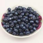Beads, Wood, Dark purple, Round shape, Diameter 8mm, 15g, 100 Beads