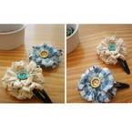 Princess flower head clip