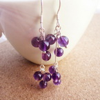 Dangling bead earrings