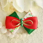 Ribbon bow hair clip