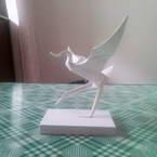 Origami Dancing Crane