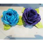 Paper seasonal roses