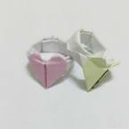 Origami love ring