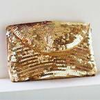 Sequin handbag