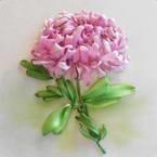 Chrysanthemum from ribbon