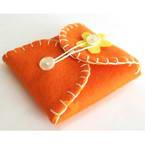 Fabric needle case