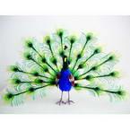 Nylon peacock