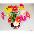 Vibrant nylon flowers