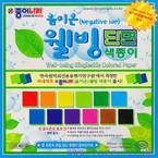 Negative ion well-being singleside, 6 inch (15cm) square, 16 sheets