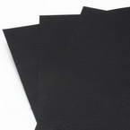 Card blanks, black, 29.8cm x 21.2cm, 8 Card blanks, 150 gsm