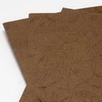 Card blanks, brown, 29.8cm x 21.2cm, 8 Card blanks, 150 gsm