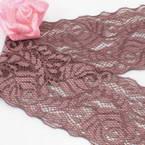 Ribbon, Polyester, Dark red, 1m x 6cm