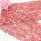 Ribbon, Polyester, Dark red, 1m x 8.8cm