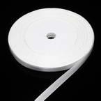Ribbon, Satin, white, 22m x 0.6cm (approximate)