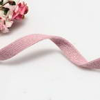 Cloth strips, Woolen thread, pink, 1m x 1cm