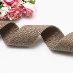 Cloth strips, Woolen thread, brown, 92cm x 2.5cm